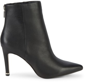 Kenneth Cole New York Raine Leather High-Heel Booties