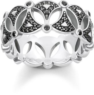 Thomas Sabo Women Silver Piercing Ring - TR2176-643-11-50