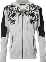 Philipp Plein Caution hoodie - men - Cotton - M