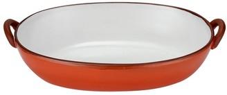 Ladelle Tapas Terracotta Handled Salad Bowl 39.4 x 25.3cm Burnt Orange