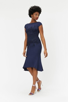 Coast Lace Waist Shift Dress