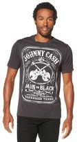 Men's Johnny Cash T-Shirt Black