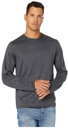 Timberland Wicking Good Sport Long Sleeve T-Shirt (Medium Grey Heather) Men's Clothing