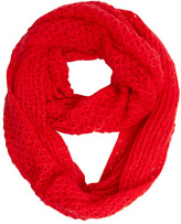 Dorothy Perkins Red knitted snood