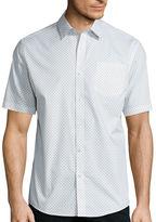 Claiborne Short-Sleeve Printed Woven Shirt