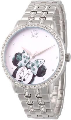 Disney Minnie Mouse Women's White Dial Watch