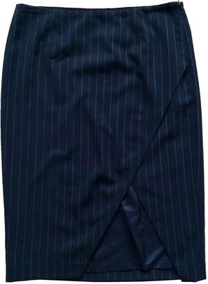 Polo Ralph Lauren Navy Wool Skirt for Women