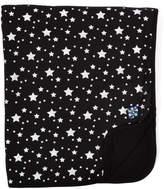 Kickee Pants Black & Silver Stars Stroller Blanket - Infant