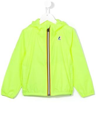 K Way Kids Zipped Logo Jacket