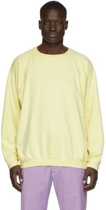Noon Goons Yellow Summer Raglan Sweatshirt
