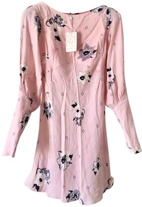 Free People Pink Viscose Dresses