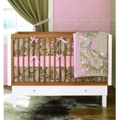 Baby Crib Bedding - Garden