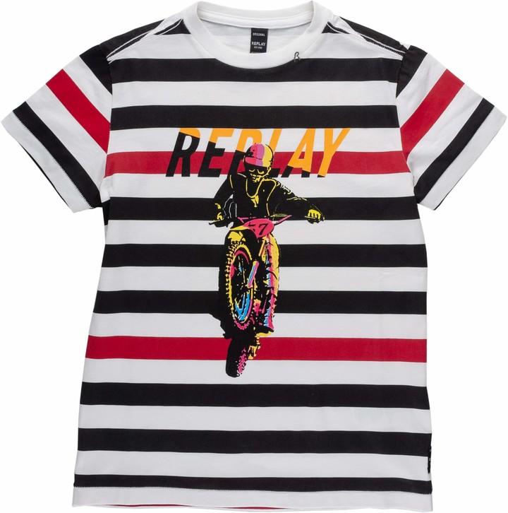Replay Boys' SB7308.025.52256 T-Shirt