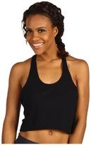 Nike Side Spin Tank (Black/Black/Matte Silver) - Apparel