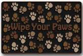 Custom doormat Custom It wipe your paws Rectangular Decorative non slip Doormat 15.7 by 23.6 by 3/16-Inch