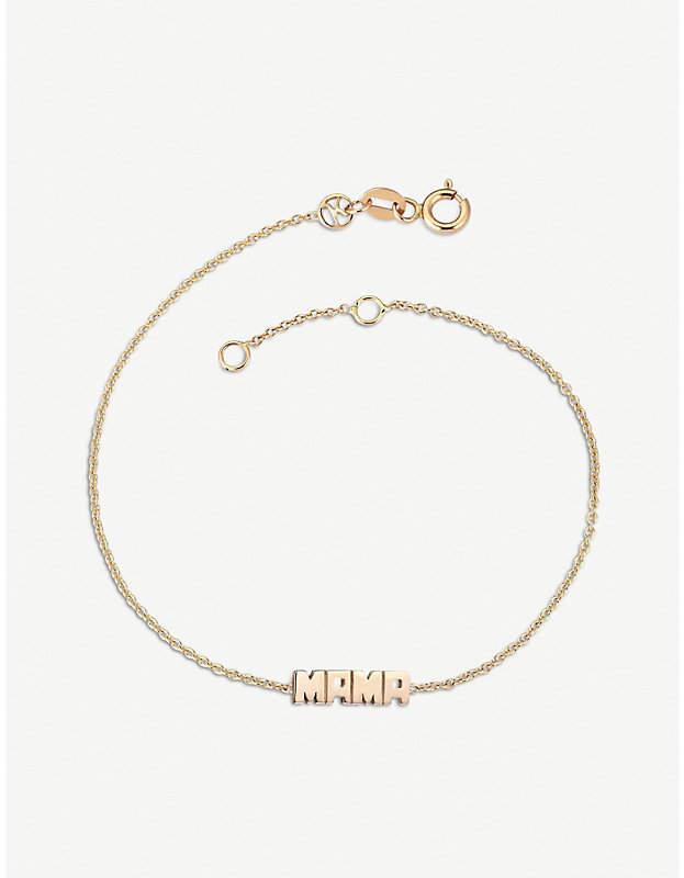 Rosegold The Alkemistry Kismet by Milka Mama 14ct rose-gold bracelet