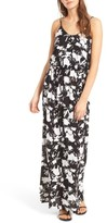 Lush Women's Knit Maxi Dress