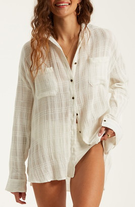 Billabong Easy Movin Button Up Shirt