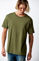On The Byas Solid Olive Regular T-Shirt