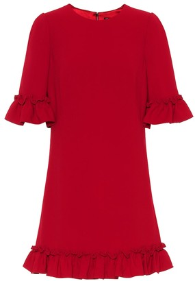 Dolce & Gabbana Exclusive to Mytheresa Crepe minidress