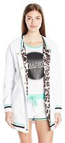 Juicy Couture Black Label Women's FT Velour Bomber