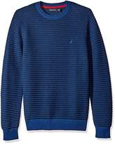 Nautica Men's Tonal Striped Pullover Sweater