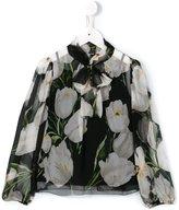 Dolce & Gabbana floral print chiffon blouse