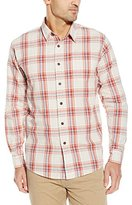 Wrangler Men's Big and Tall Authentics Premium Long Sleeve Woven Shirt