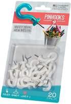 Pinhooks Push Pin 20-Pack Wall Hooks