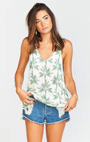 MUMU Hangout Tank ~ Walk the Palm Knit