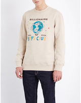Billionaire Boys Club Graphic-print Cotton-jersey Sweatshirt