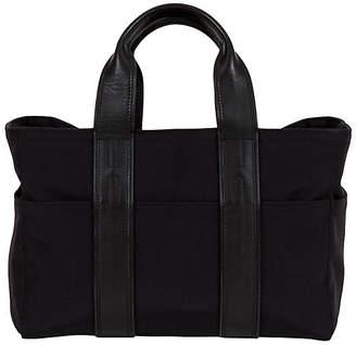 One Kings Lane Vintage Small Hermes Leather & Nylon Handbag - Vintage Lux