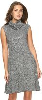 Apt. 9 Women's Ribbed Cowlneck Sweaterdress