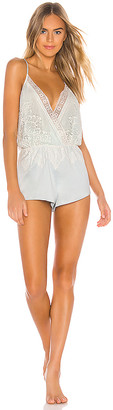 Flora Nikrooz Genevive Romper With Lace
