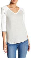C&C California Laura V-Neck Raglan Tee