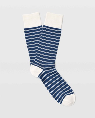 Club Monaco Double Striped Sock