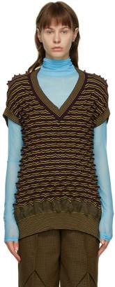 KIKO KOSTADINOV Multicolor Merino Wool Dimensional Vest