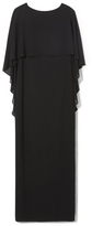 Vince Camuto Ruffle-popover Gown