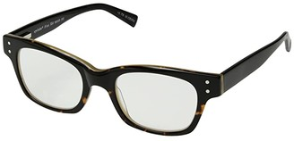 Eyebobs Fizz ED (Demi Torte/Black) Reading Glasses Sunglasses