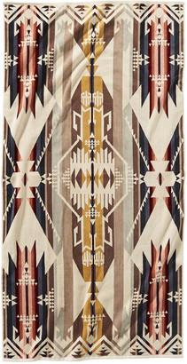 Pendleton Iconic Jacquard Towel - White Sands - Bath Towel