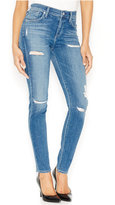 A Gold E Sophie Distressed Skinny Jeans, Cannes Wash