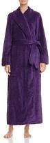 Oscar de la Renta Long Plush Robe