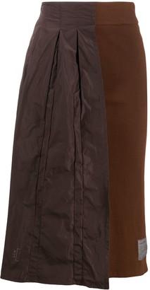 A-Cold-Wall* Half Pleat asymmetric skirt