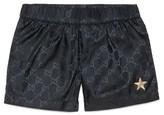 Gucci Toddler Boy's Interlock Logo Swim Shorts