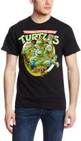 Nickelodeon Men's Ninja Turtles Group Tee