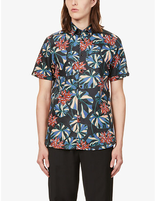 Ted Baker Graphic-print cotton shirt