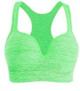 Ancdream Women Wirefree 3D Push Up Sport Running Yoga Bra Underweare