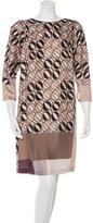 Piazza Sempione Silk Shift Dress