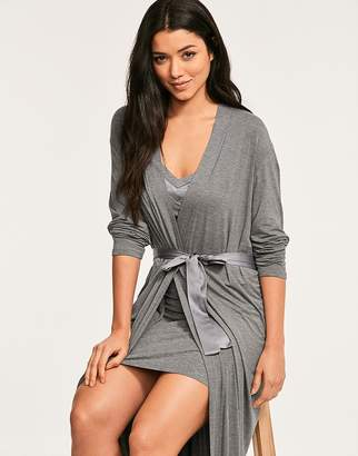Figleaves Nightwear Camelia Soft Touch Long Robe