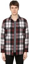 Burberry Padded Check Wool Flannel Shirt